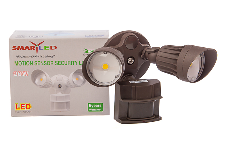 Security Light 20 Watt 2-head