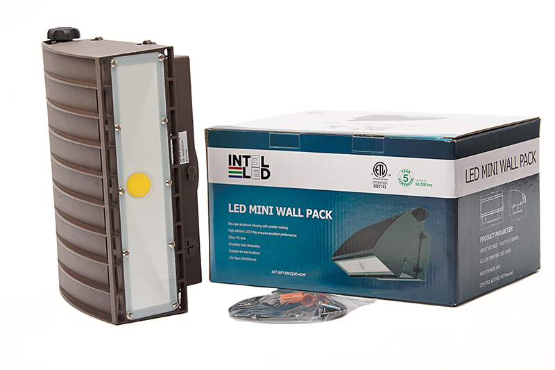 MINI WALLPACK INT-WP-MINI240-40W