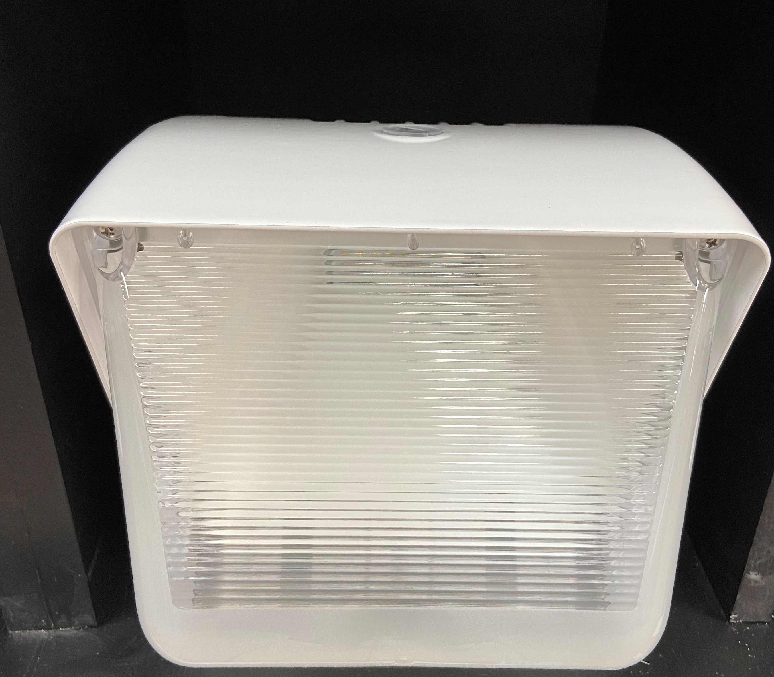 WHITE 60W WALLPACK